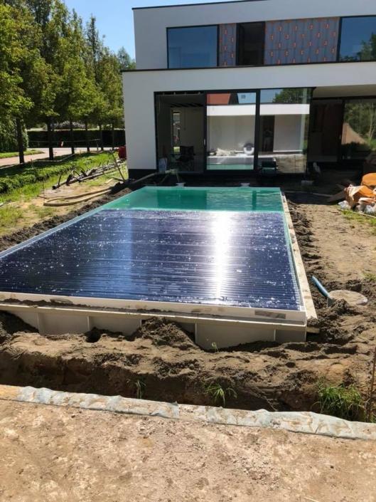 Ppc zwembad modern huis