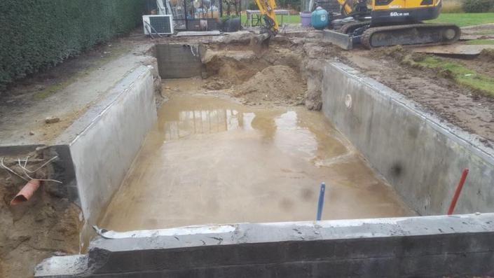 renovatie zwembad naar een PPC zwembad