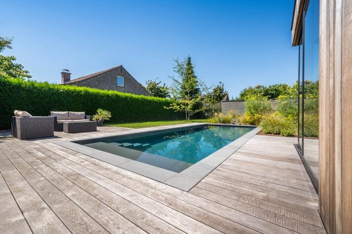 Zwembad-donkergrijs-Lochristi